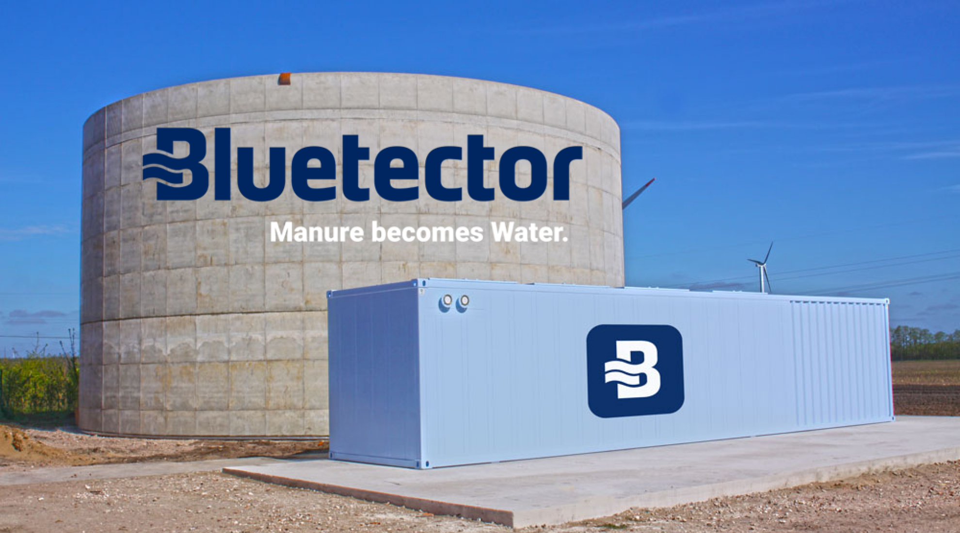 Bluetector – Manure becomes Water